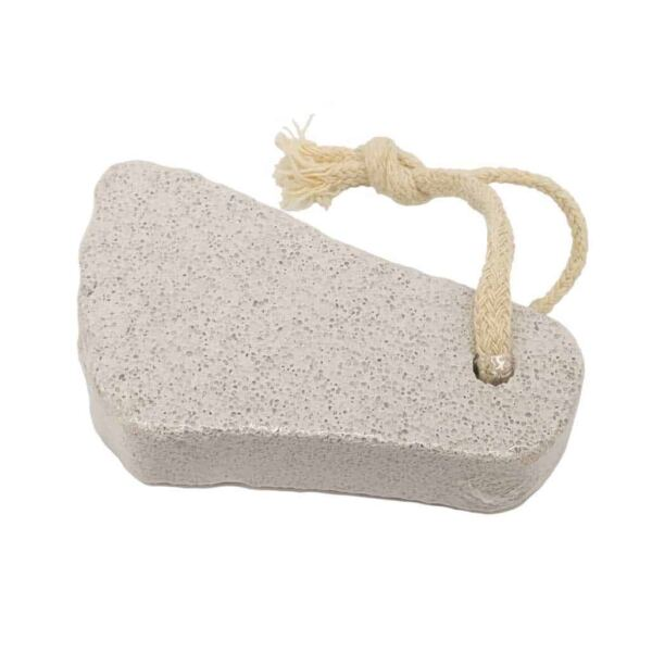 Foot Shaped Pumice Stone with Rope