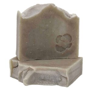 Renew bar soap with rhassoul clay